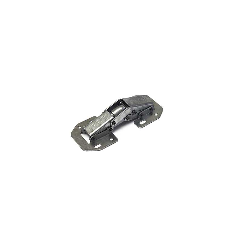 Meubelscharnier easy-on / zware uitvoering / vernikkeld