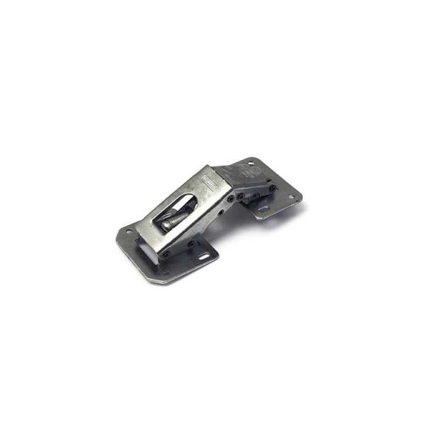 Meubelscharnier easy-on / zware uitvoering voor opdekdeuren / vernikkeld