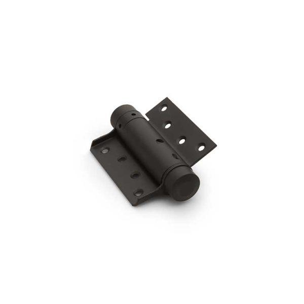 Bommer scharnier / enkelwerkend / 33/125mm / staal / zwart gelakt