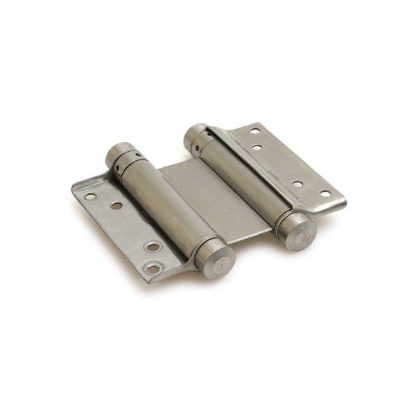Bommer scharnier / dubbelwerkend / 33/125mm / staal / blank verzinkt
