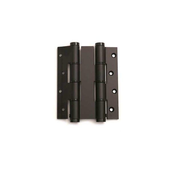 Deurveerscharnier dubbelwerkend 120/30mm / aluminium / zwart