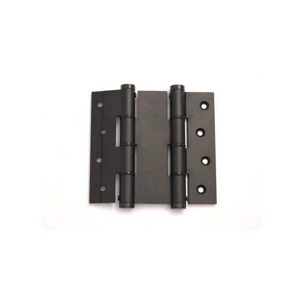 Deurveerscharnier dubbelwerkend 120/40mm / aluminium / zwart