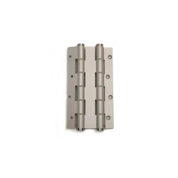 Deurveerscharnier dubbelwerkend 180/30mm / aluminium / zilvergrijs
