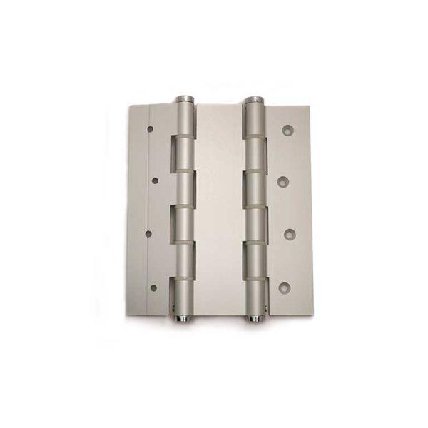 Deurveerscharnier dubbelwerkend 180/50mm / aluminium / zilvergrijs