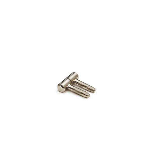 Meubel Inboorpaumelle / 09x025 mm / smal type / staal verzinkt