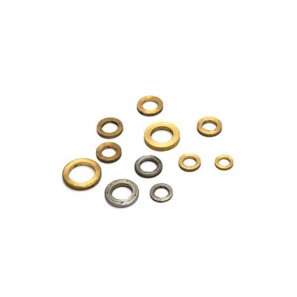 Messing ring / voor aanlaspaumelles 040/060