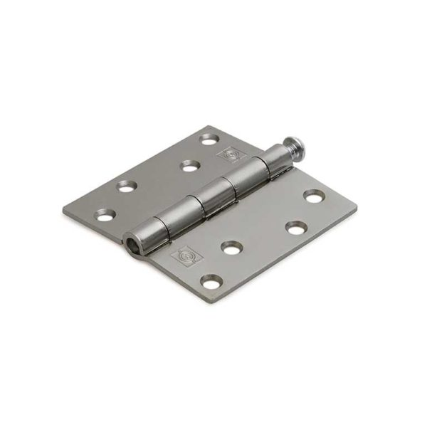 Scharnier / rechte hoeken / 89x89 mm / losse verzinkte pen / staal verzinkt
