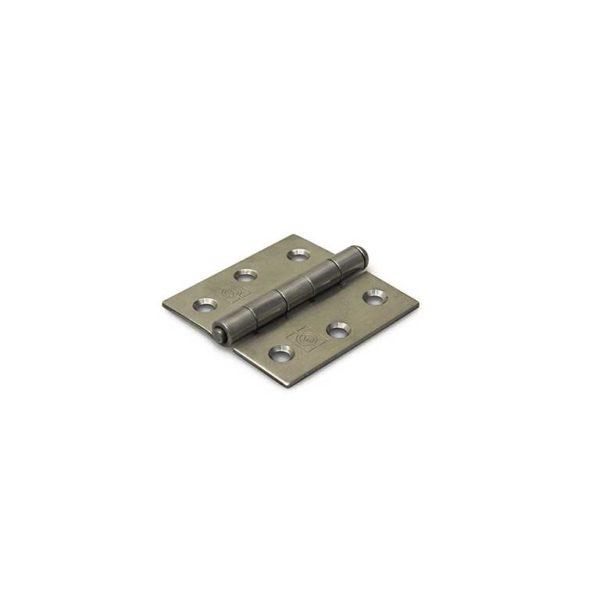 Scharnier / rechte hoeken / 63x63 mm / losse verzinkte pen / staal verzinkt