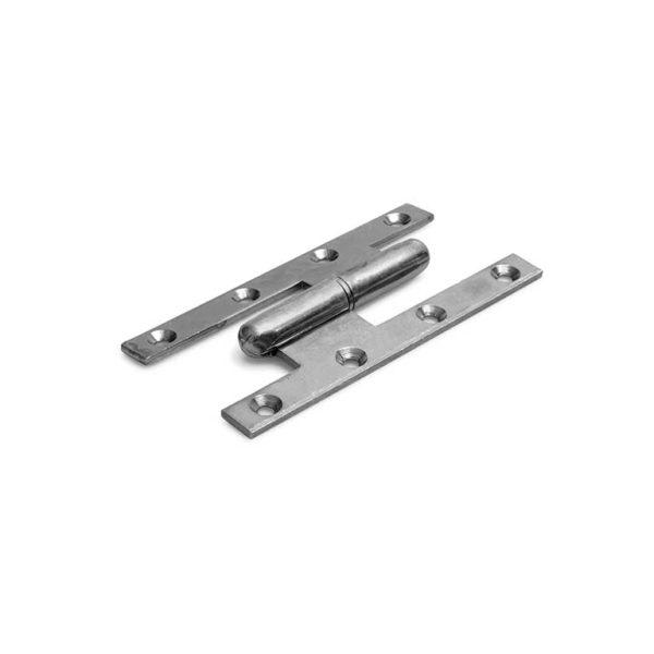 Paumelle scharnier / 140x70 mm / links / staal verzinkt