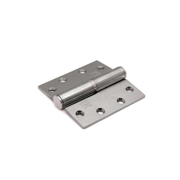 Kogelstiftpaumelle / rechte hoeken / 89x89 mm / rechts / staal verzinkt