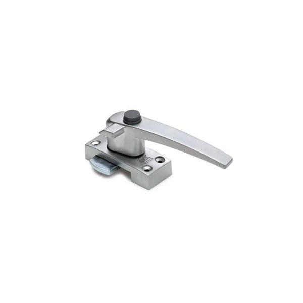 Raamboompje, drukknop / rechtshandig met nok / zamac / F1 aluminium