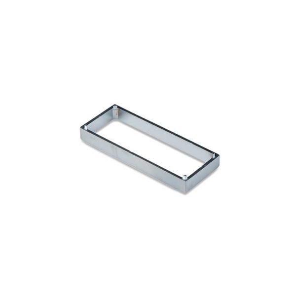 Tussenplaat / t.b.v. RBM serie / zamac / F1 aluminium