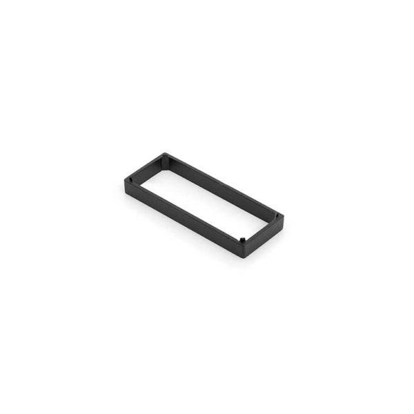 Tussenplaat / t.b.v. RBM / zamac / epoxy coating zwart