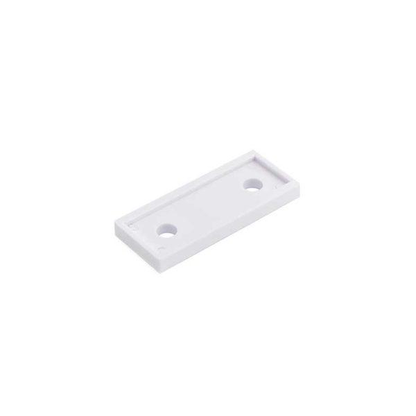 Onderlegplaat raamkozijn / t.b.v. RUZ-W-010 serie / plastic / wit