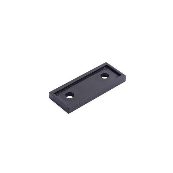 Onderlegplaat raamkozijn / t.b.v. RUZ-W-010 serie / plastic / zwart