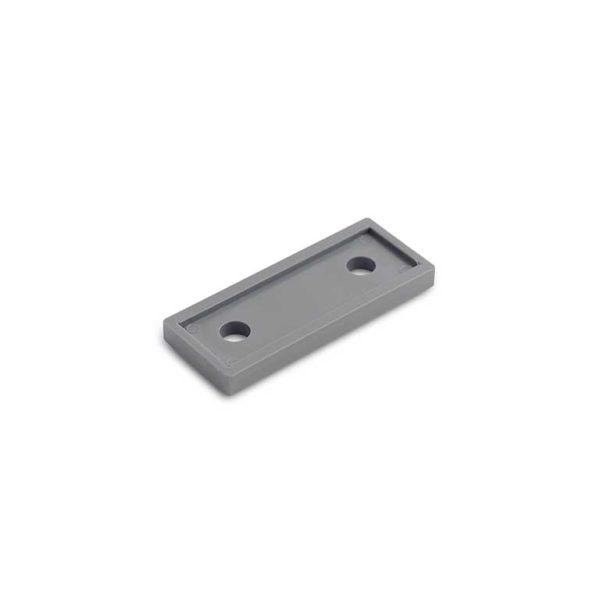 Onderlegplaat raamkozijn / t.b.v. RUZ-W-010 serie / plastic / grijs