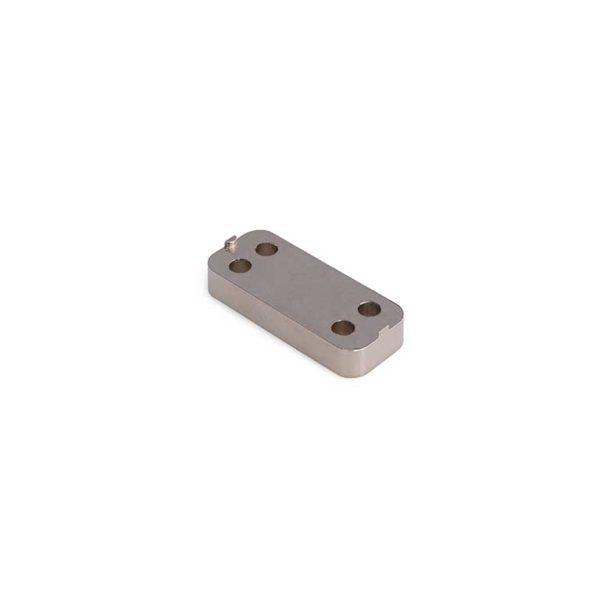 Onderlegplaat / t.b.v. RUZ-WKS-300 serie / zamac / RVS